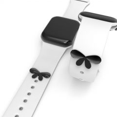 Butterfly Shape  Watch Band Charms Decorative Studs Straps Buddies Accessory For Silicone Sport Watch