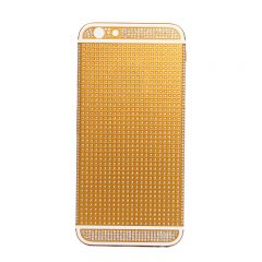 iPhone 6 gold housing full diamond inlaid