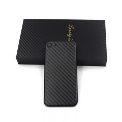 iPhone 7 jet black housing with carbon fiber