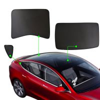 Glass Roof Sunshade Sunroof Rear Window Sunshade Compatible for Tesla Model 3