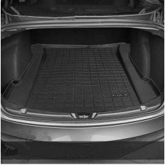 Compatible for Tesla Model 3 trunk mat storage box mat TPE rubber foot mat modification accessories