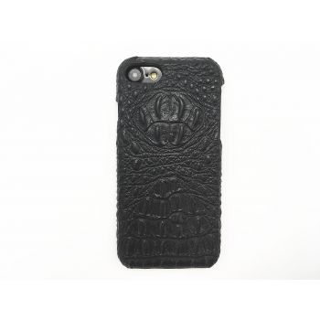 For iPhone 7 crocodile genuine leather case