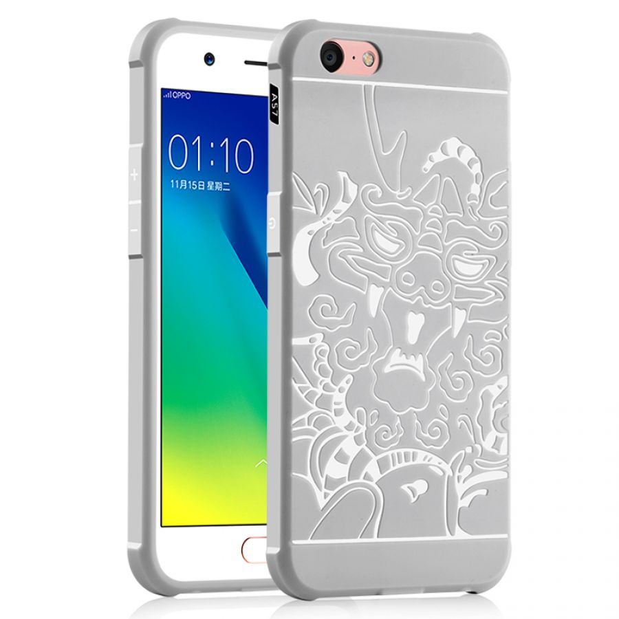 Oppo A57 Dragon Design Tpu Protect Case Phone Bags Cases