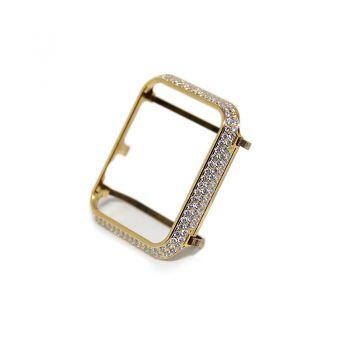 Apple Watch Protective Case 24k Gold Diamonds Bezel 38/42mm
