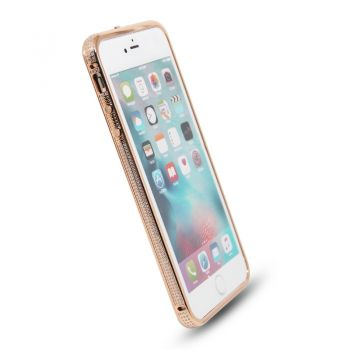 24k frame diamonds metal back cover housing for iPhone7/plus