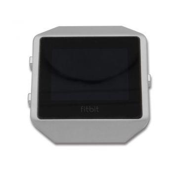Protective case aluminium alloy grey frame for Fitbit blaze