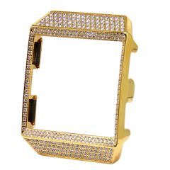 Gold diamond case for fitbit ionic smart watch