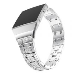 Fitbit Ionic  luxury shiny diamonds metal wristband band