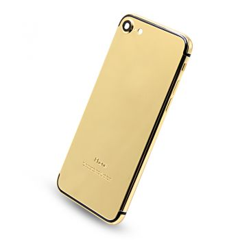 iphone 7 24kt gold plated back cover body housing