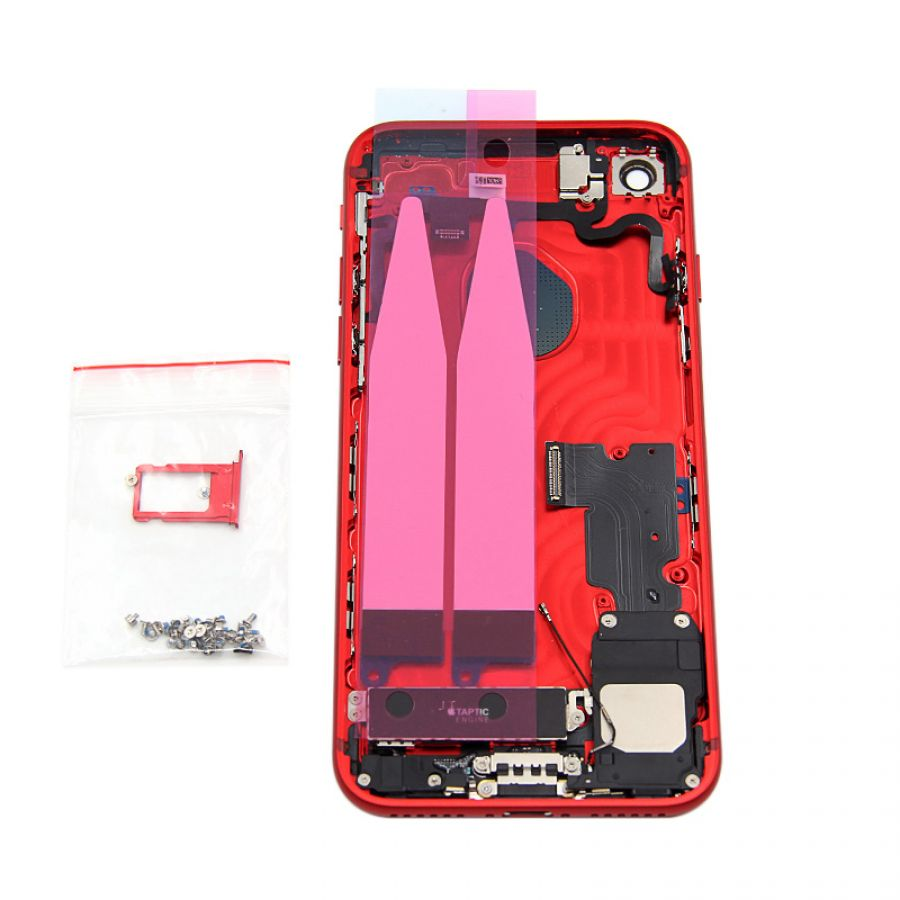 iPhone 7 red color with red antenna back housing replacement