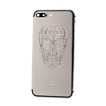 iPhone 7 Plus platinum housing skull design