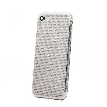 Luxury Platinum iPhone 7 back with full back diamonds