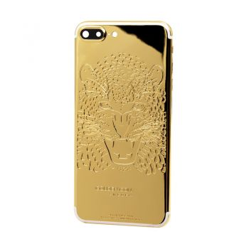iPhone 7 Plus customized leopard design 24kt limited edition