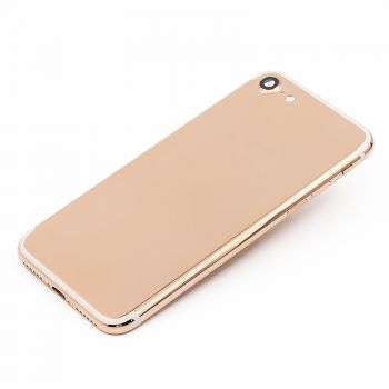 Luxury rose gold plated for iphone 7 housing