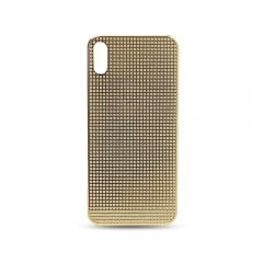 24k gold plated housing cover full diamond case for iPhone X