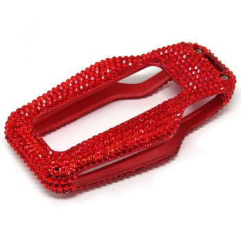 Luxury  Red Diamond stuck Car Key Case Cover For BMW
