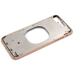 Metal color plated middle frame for iphone 8 5.5 inch