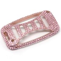 Luxury  Pink  Diamond stuck Car Key Case  For  Land Rover