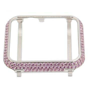 Pink crystal cover case for apple watch 38mm/42mm