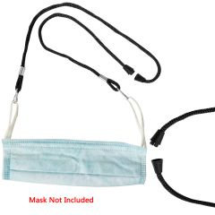 Mask Lanyards With Clip Face Bandana Neck Extension Chains Soft Braided Cords String Holder Keeper Ear Pressure Relief Adjustable Length Tie Strap Retainer