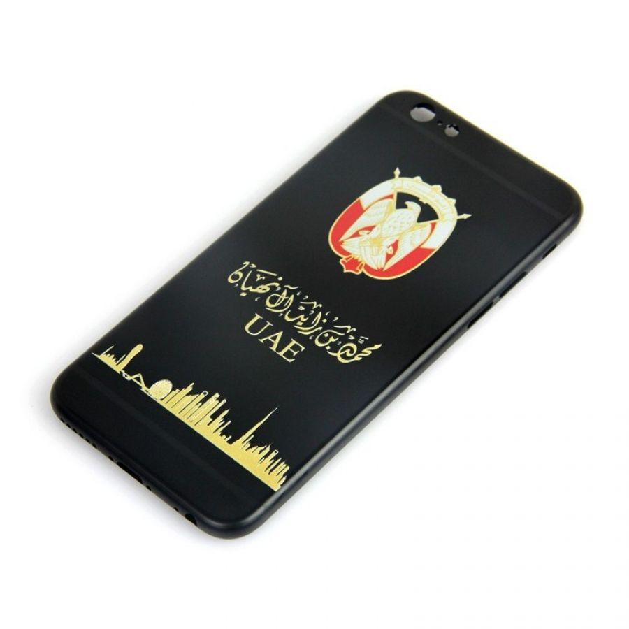 iPhone 6s Plus matte black housing UAE design