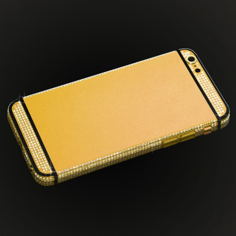 Matte Color Iphone 6 6s Plus Back Housing With The Diamonds Case Casing Glossy Diamond 7