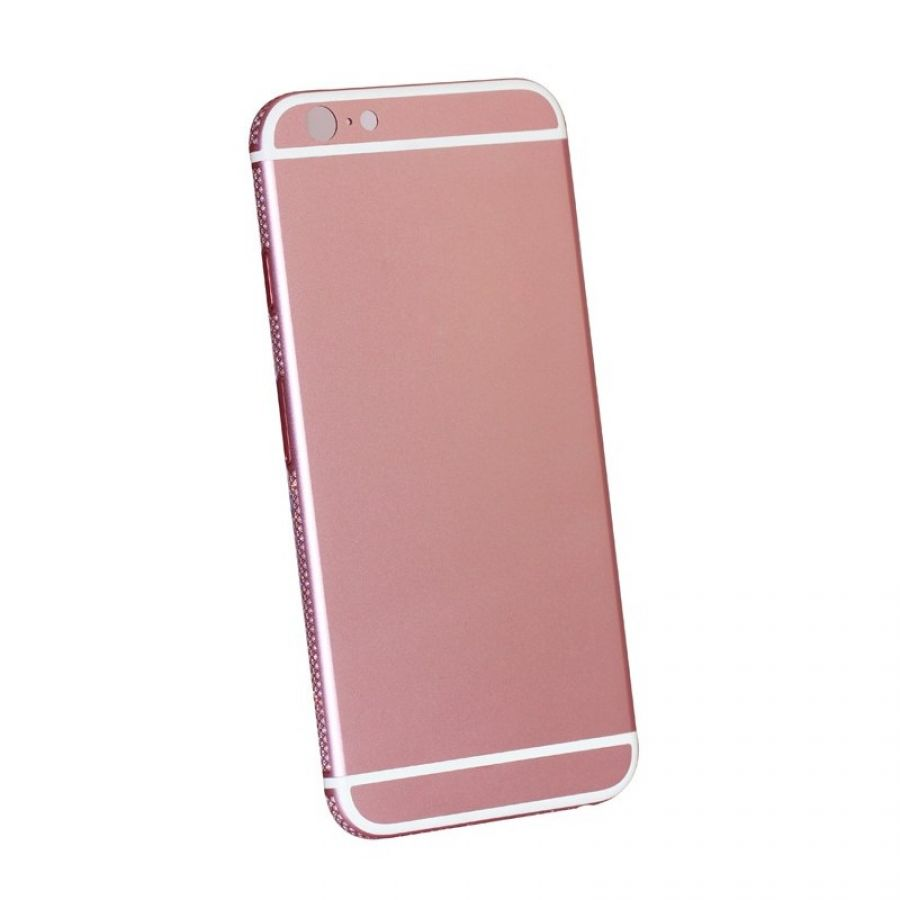 pretty nice ce8a3 54ade Romantic pink color for iphone 6s plus back replacement