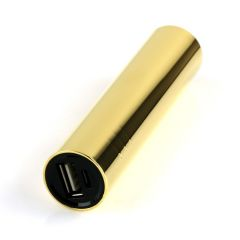 24k gold mini power bank battery charger