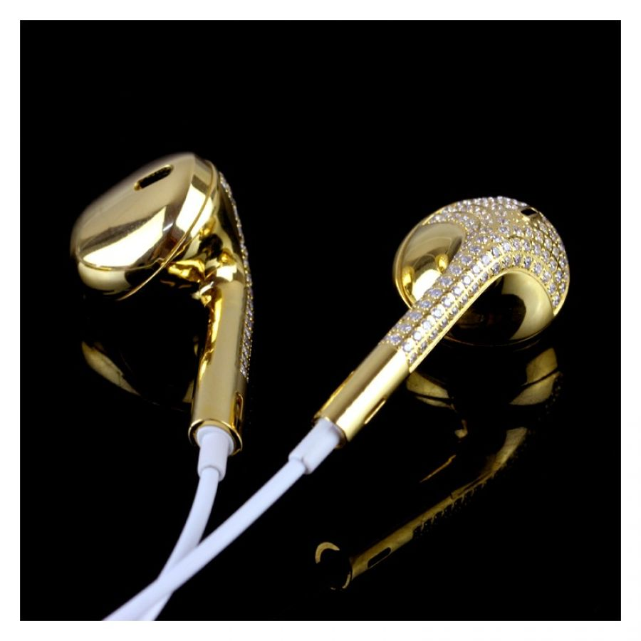 gold iphone headphones iphone 6 6s gold in ear headphone headset 10715