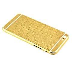 Customized gold housing for iPhone 6 Unique pattern