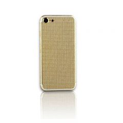 iPhone 7 24k gold housing with full diamonds