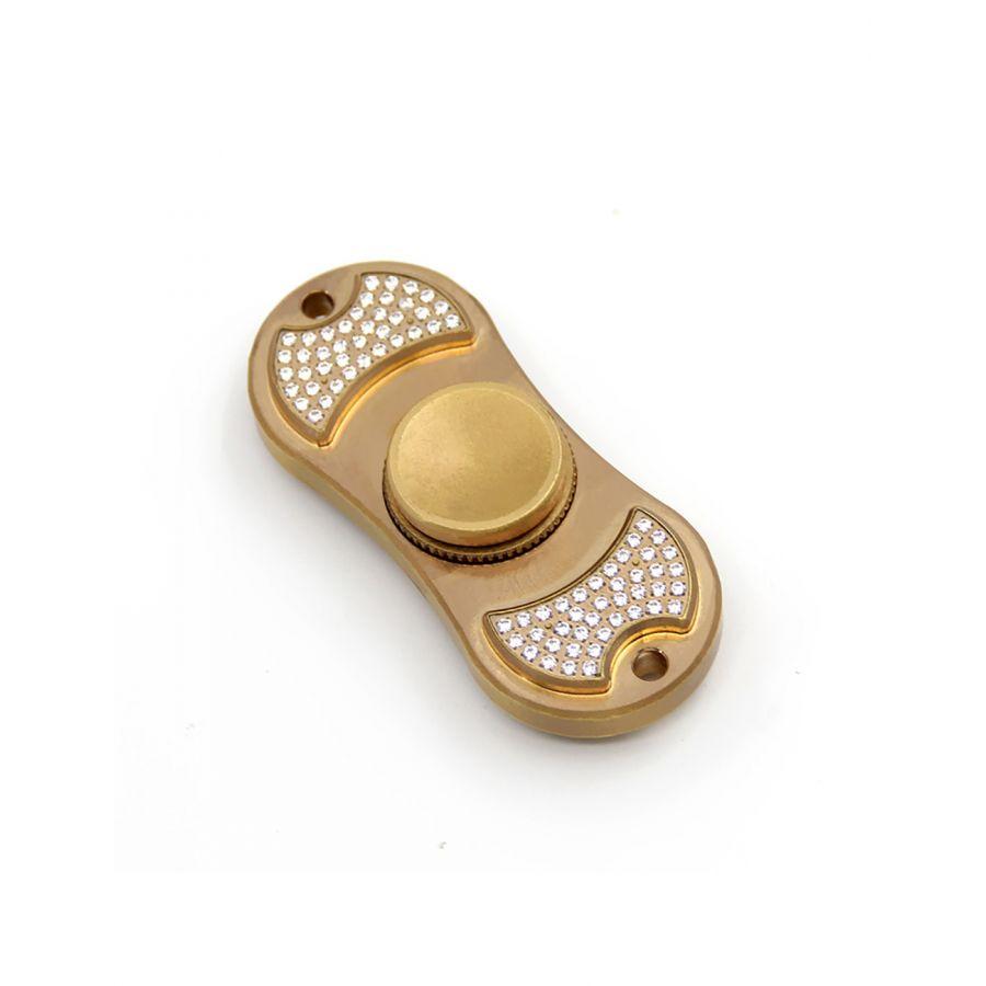 Copper Fidget Spinner Toys With Handmade Diamonds