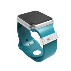 Smart Watch Rubber Sport Band Adornment Decorative Ring Loops For Smart watch Strap Charm