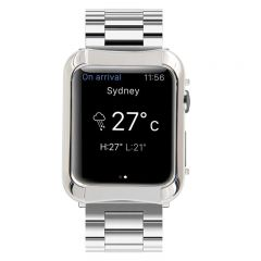Apple Watch platinum gold-plated case luxury gold case for Apple Watch Series 3 2 1, 38 mm/40mm/42 mm/44mm
