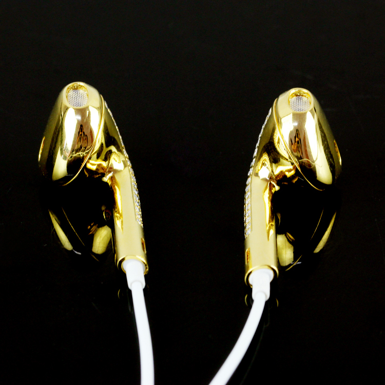 Earphones with diamond iphone 7 - silver iphone earphones
