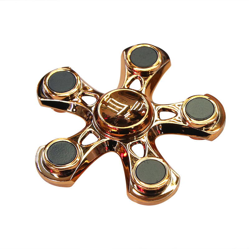 Five Sided Fidget Spinner Hand Toy